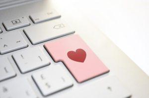 Tastatur mit Herz