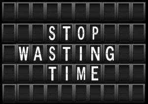 stop_wasting_time_Lebensfreude50