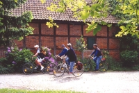 Gartenradreise Lüneburger Heide – speziell für Alleinreisende