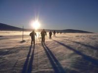 Ski- und Schneewandern im tschechischen Isergebirge für Alleinreisende