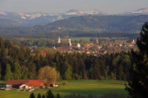 Wanderreise ins Allgäu nach Isny speziell für Alleinreisende